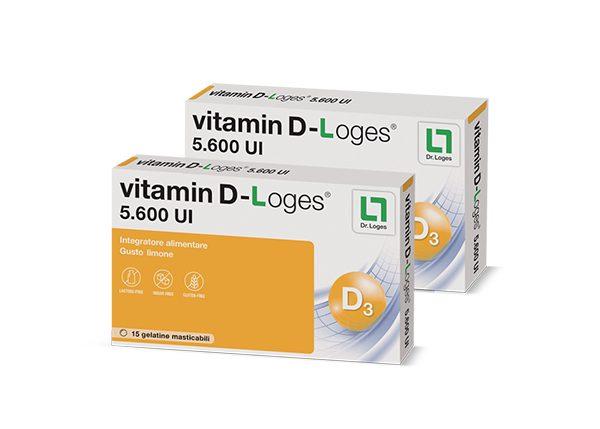 VITAMIN D-Loges® 5600 UI